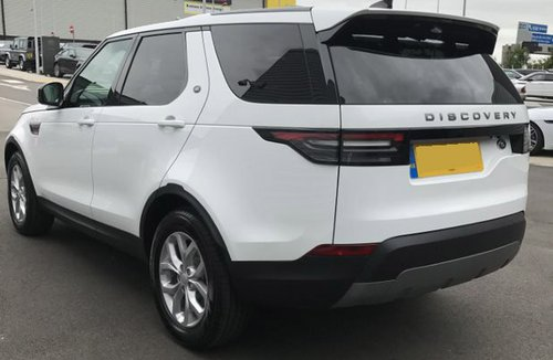 2017 Land Rover Discovery os rear
