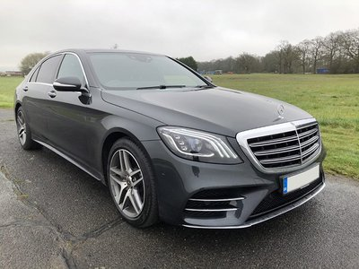 2018 Mercedes S350 front