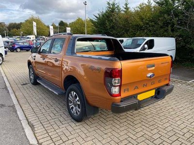 2017 Ford Ranger Wildtrak Rear Side
