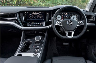 Mighty VW Touareg Dashboard