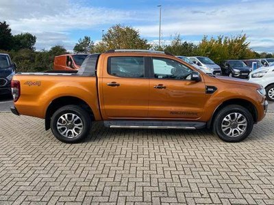 2017 Ford Ranger Wildtrak Side