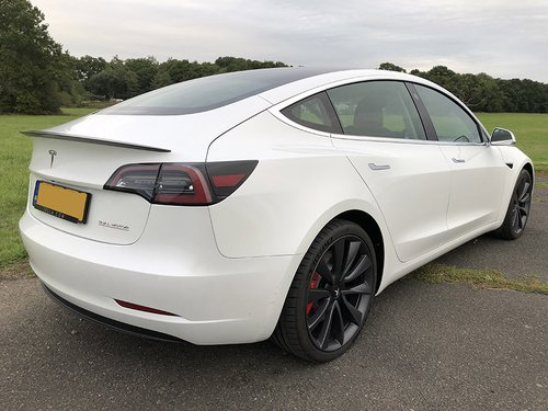 2020 Tesla Model 3 NS Rear