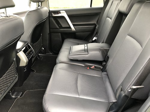 2017 Toyota Landcruiser Back Seats