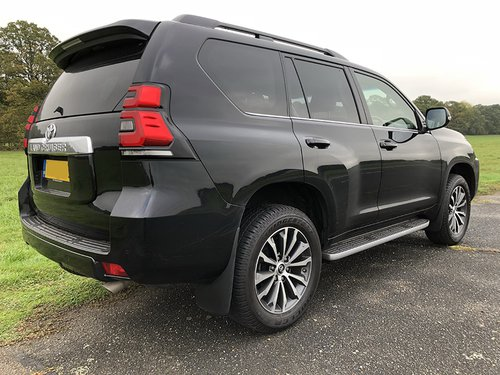 2017 Toyota Landcruiser NS Rear