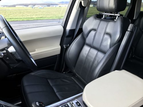 2013 Range Rover Sport drivers seat