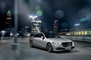 The New Mercedes S Class Saloon