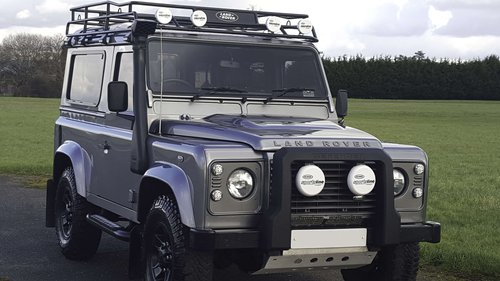 2012 Land Rover Defender 90 conversion