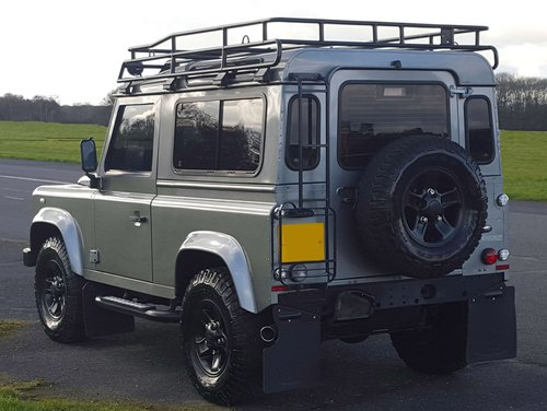 2012 Land Rover Defender 90 conversion - rear
