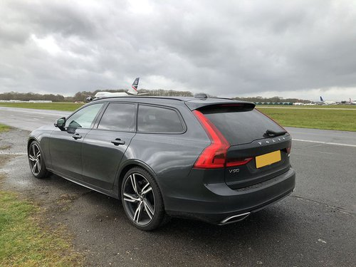 2020 Volvo V90 Exported OS rear